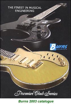 Burns Guitars Since 1992